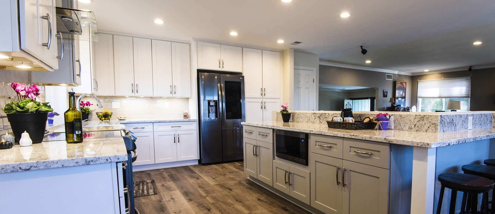 featured kitchen  anderson design  remodeling