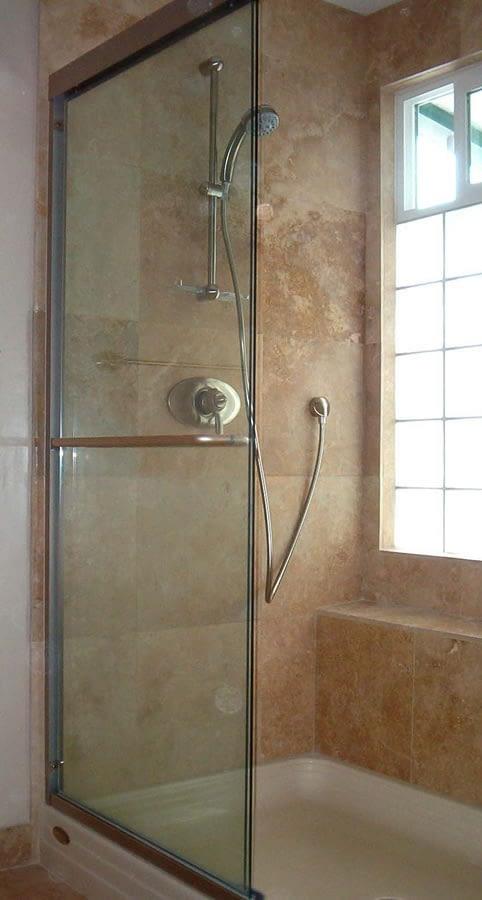 Shower-bench