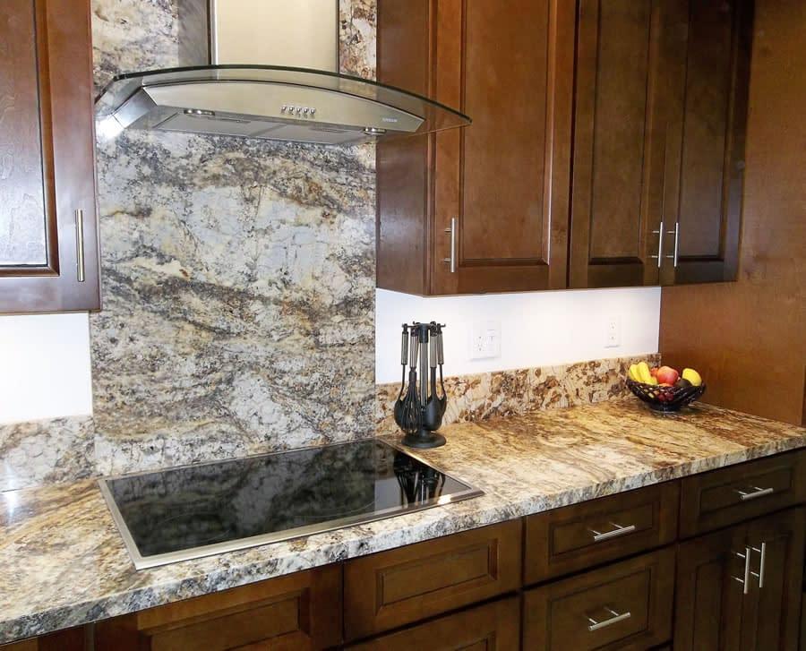 Granite back Splash